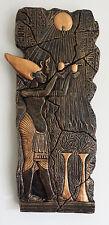 Egyptian Akhenaten Oferta Para Aten jeroglíficos Placa de pared jardín/Interior