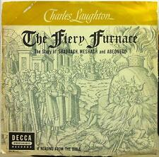 1948 DU 16 Decca 78 Rpm CHARLES LAUGHTON the fiery furnace VG+ DU 90039