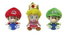"Official San-ei Little Buddy 5"" Baby Mario, Peach and Luigi Bundle"