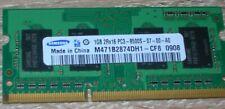 Samsung 1GB, 2Rx16 PC3-8500S-07-00-A0  M471B2874DH1-CF8 0908
