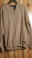 Dickies men pull over sweather NWT beige Large