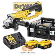 DeWALT 18V  Akku Winkelschleifer DCG412M2 + 2 Akkus 4,0Ah in TSTAK BOX II DCG412