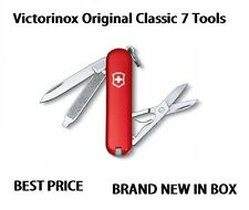 🌟🌟🌟 0.6223 Victorinox Classic SD Swiss Army Knife Red Pocket Knife 56011