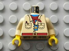 Buste LEGO Minifig torso Miss Gail Storm 973pa6 / Set 1354 1370 7419 5978 5988