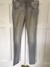 H & M - Skinny Low Waist Grey Jeans - Size 28/32