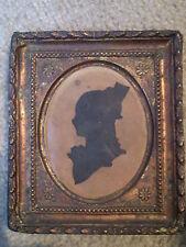 Antique Original Female Hand CUT Framed Silhouette EARLY PIECE