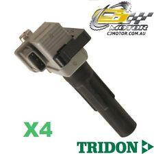 TRIDON IGNITION COIL x4 FOR Subaru Impreza WRX 12/02-09/05, 4, 2.0L EJ205