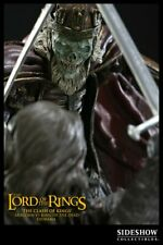 LOTR SIDESHOW WETA CLASH OF KINGS ARAGORN VS KING OF THE DEAD STATUE FIGURE BUST