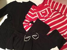Gymboree Lot Of 5 Piece Girls Fall/Winter Size 3T Dresses Skirt Black Pants