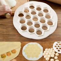 DIY Dumpling Maker Mould 19 Holes Ravioli Dough Press Cutter Kitchen Gadget Tool