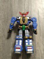 "Vintage Power Rangers Zeo Megazord Battlezord MMPR 5"" Action Figure Bandai 1996"