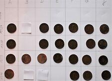 Nazi , 1 Pfennig Sammlung, alte Münzen ,Kupfer , 3. Reich  ,bitte lesen !