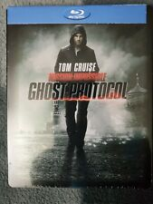 Tom Cruise: Mission Impossible Ghost Protocol Blu-Ray Steelbook OOP