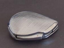 FLAMINAIRE Vtg 1950's Galet Butane Gas Silver Lighter Made in France
