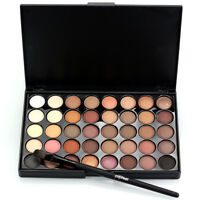 Makeup 40 Colors Eyeshadow Palette Cream Eye Shadow Shimmer Matte Cosmetic US