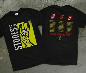 Vintage Rare The Rolling Stones Tour '94 '95 Voodoo Lounge Rock Limited T Shirt