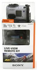 NEW Sony FDR-X1000VR 4K Full HD Action Cam w/ Live View Remote Kit video camera