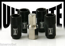 ULTRALITE M12 x 1.5 ALLOY WHEEL LOCKERS LOCK NUTS INTERNAL SECURITY PACK 4 Y3162