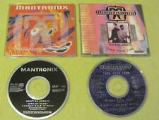 Mantronix Don't Go Messin With My Heart & Take Your Time 2 CD Singles Dance Hous