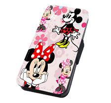 Disney Minnie Printed Flip Phone Case Cover for iPhone Samsung And Huawei