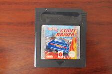 STUNT DRIVER    HOT WHEELS         -----   pour GAME BOY