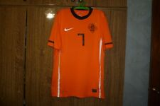 Holland Netherlands Team Nike Football Shirt #7 Dirk Kuyt Home 2010/2011 Size S