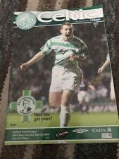 Celtic V Dunfermline 25th September 2004