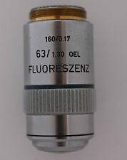 LEITZ FLUORESZENZ 63x /1.30 OIL 160mm  Microscope Obective - High Quality Item