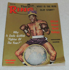 """MANTIQUES UK    MARCH-APRIL 1965 EDITION  """"THE RING""""  BOXING MAGAZINE"""
