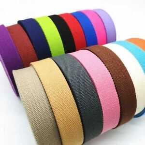 cotton Binding Apron Herringbone Twill Webbing Tape Sew Strap 25mm & 38mm 💪🤝