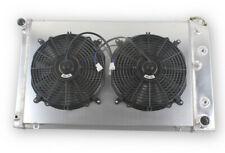 3 Row Aluminum Radiator Ampshroud Fan Chevy 70 81 Camaro 78 87 Monte Carlo G Body