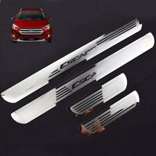 Car Stainless Steel Door Sill Scuff Plate for Ford ESCAPE 2014-2018 4PCS
