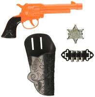 Gun Holster Set Wild West Cowboy Fancy Dress Halloween Child Costume Accessory