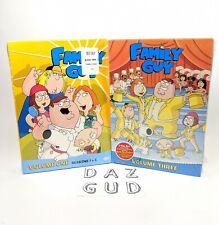 Family Guy Volumes 1 & 3 DVD Sets - Brand New Sealed