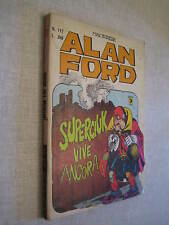 ALAN FORD N. 117 ORIGINALE -