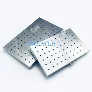 disinfection box Autoclavable tray sterilize case Silicone mat stainless steel