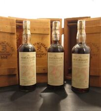 MACALLAN  Anniversary Malt  - 1957 + 1958 + 1959 -- 3 bot. 25 J.- Gems of Scotch