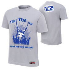 Daniel Bryan YES! FIGHT FOR YOUR DREAMS Licensed WWE XL T-Shirt NEW