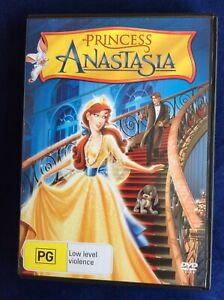 Princess Anastasia - Excellent Condition - Region 4 DVD - FREE POST