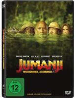 Jumanji: Willkommen im Dschungel (2017)[DVD/NEU/OVP] Dwayne Johnson, Jack Black,