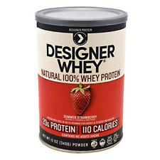 Designer Whey Protein Strawberry 12.7 Oz