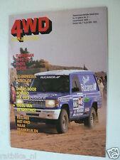 4WD MAG 4-WHEEL DRIVE 1989-02,PARIS-DAKAR,JEEP TOUR,NISSAN PATROL GR,MERCEDES GE