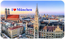 Kühlschrankmagnet,Magnetschild,Magnet-Motiv:I`Love München