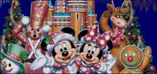 """Disney's Mickey and Minnie Mouse """"A Very Merry Christmas"""" X-Stitch Pattern CD"""