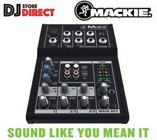 MACKIE Mix5 - 5 Channel Compact Mixer Studio Live DJ Band EQ Analog FREE P&P
