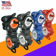 360° Mount Bicycle Flashlight LED Torch Holder Clip Bike Mount Clamp Universal