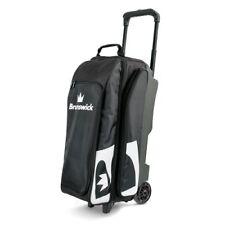 Brunswick Blitz Black 3 Ball Roller Bowling Bag