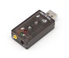 Adaptateur Carte Son AC-3 Clé USB Audio Micro 3D Stéréo 7.1 Canaux