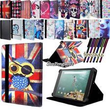 Folio Stand Leather Cover Case For HTC Flyer/EVO/Nexus/Jetstream Tablet+ STYLUS