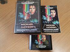Michael Jackson's Moonwalker Sega Genesis Tested Works 1990